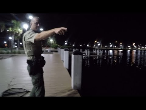 New Spot Holds Snook Says Stealthy Wildlife Officer