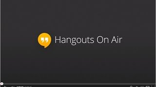 how to livestream on youtube hangouts