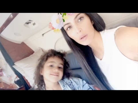 Kim Kardashian | Snapchat Videos | January 30th 2017 | ft North West