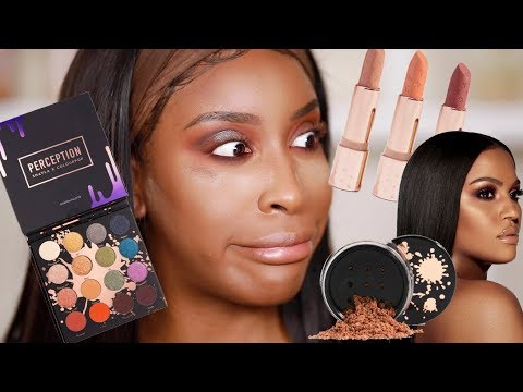 Shayla x Colourpop: RIP to Our Hairlines!!!! | Jackie Aina