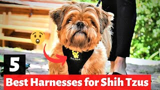 5 Best Harnesses for Shih Tzu's | Which Dog Harness is the best for you?