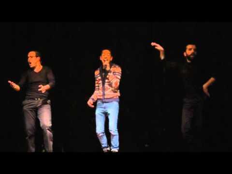 LES inqualifiables & Fayçal Azizi - Hak A Mama  Live  04/12/15