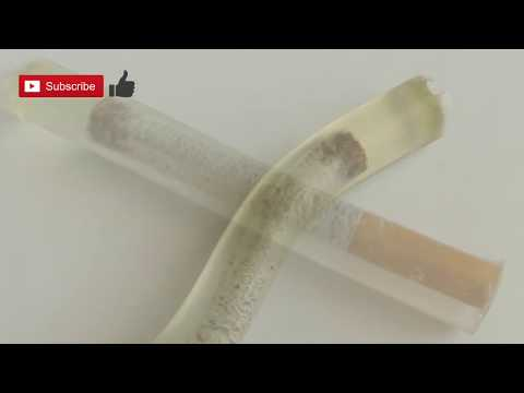 DIY | How to make amazing decorated cigar by epoxy