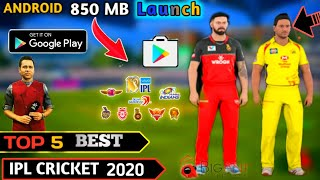 Gambar cover Top 5 Brand-new Ipl cricket game for Android HD graphics