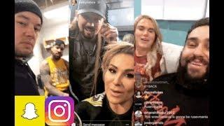 WWE Snapchat/Instagram ft. AJ Styles, Rusev, Baron Corbin, Corey Graves, Bayley, The Miz n MORE