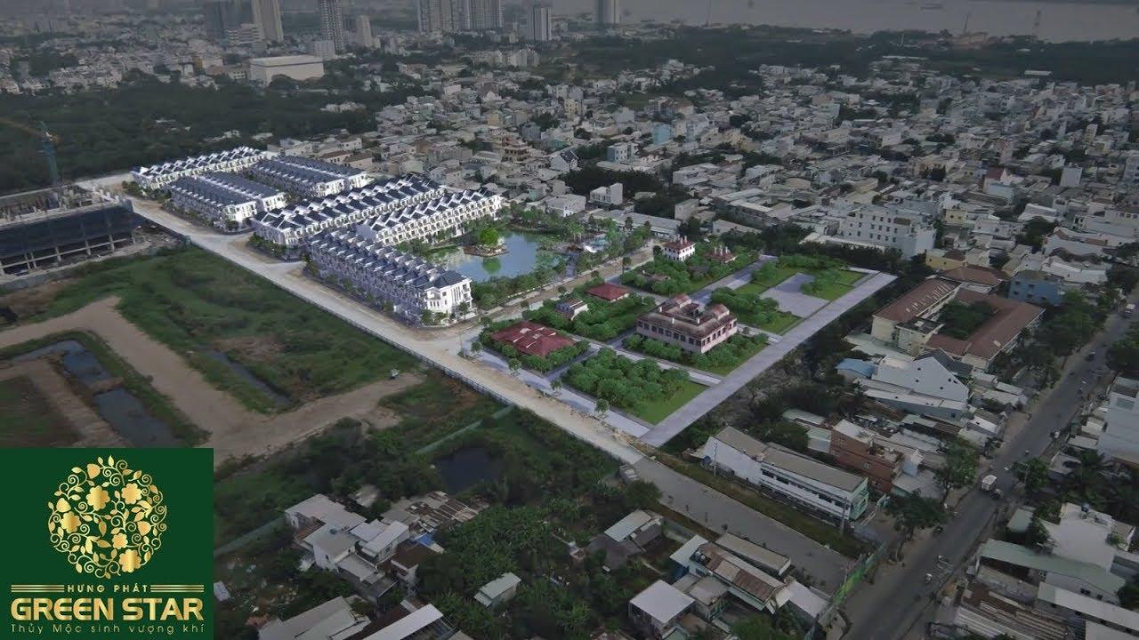 Giới thiệu khu Villa Green Star liền kề Phú Mỹ Hưng