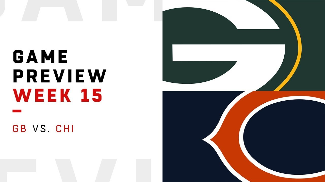 Green Bay Packers vs. Chicago Bears | Week 15 Game Preview | Move the Sticks