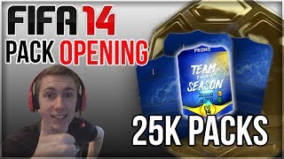 Fifa 14 | pack opening '25k packs are the best?'