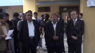 1 WI FI INAUGURACION SAN MARCOS, ING  LUIS PONCE JEFE DE LA RED TELEMATICA