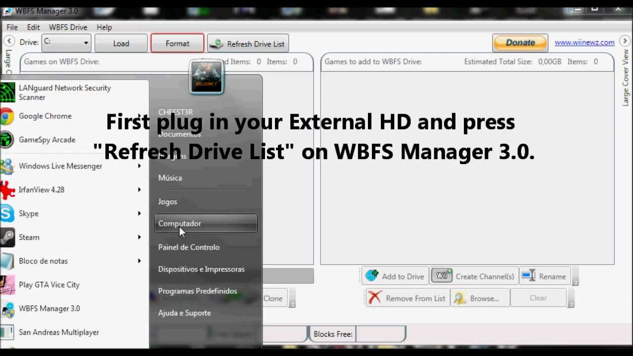 wbfs manager 4.0 wii