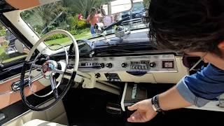 Ford Crestline Skyliner 1954  [Desfile de Autos Clásicos y Antiguos 2018] Telemedellín