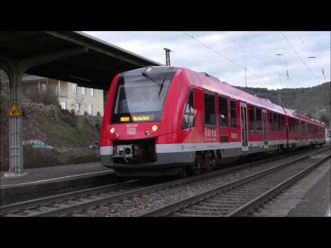 Züge in Remagen und Oberwinter mit BR120 BR151 BR185 LINT und mehr...[Live Musik in Oberwinter]