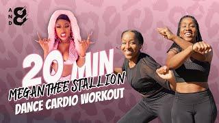 SAVAGE 20 Min Fun Dance Workout! Megan Thee Stallion (Full Body Cardio) // and8 Fitness