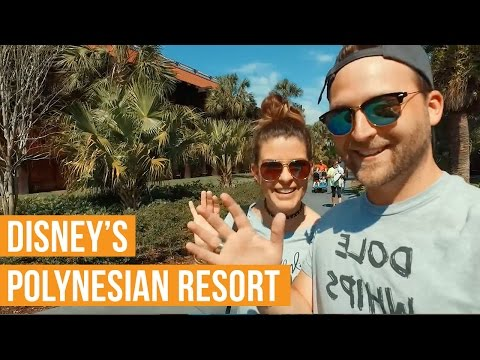 Disney's Polynesian Resort - Walk Through