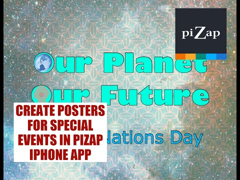 PiZap's Quick Photo Editing Tutorial: Create Poster For Special Events