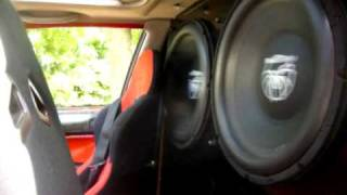 SoundStream XXX 18 Civic 151.3 missing 4 amps