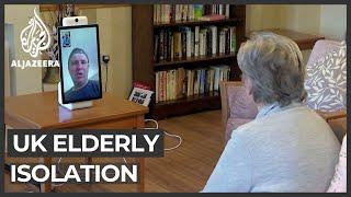 UK's elderly struggle with COVID-19 isolation