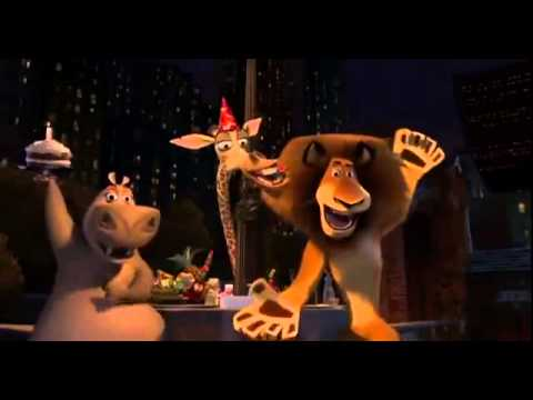 Happy Birthday song Madagascar Version)   YouTube