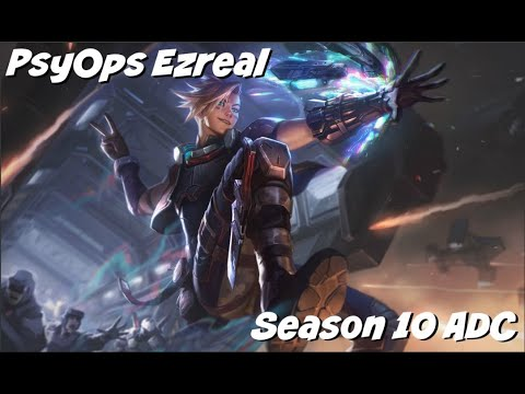 League of Legends: PsyOps Ezreal ADC Gameplay