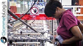 Mercedes Engine + Dual-Clutch Gear box PRODUCTION (German Car Factory)
