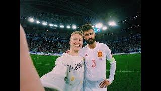 Почему я выбежал на поле во время матча Россия Испания 2017 Обзор от Моего Лица Вперед к мечте