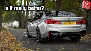 DRIVING the NEW BMW M5 Competition 2018 | AMG doesn't LIKE this