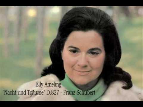 """Elly Ameling - """"Nacht und Träume"""" - Franz Schubert"""