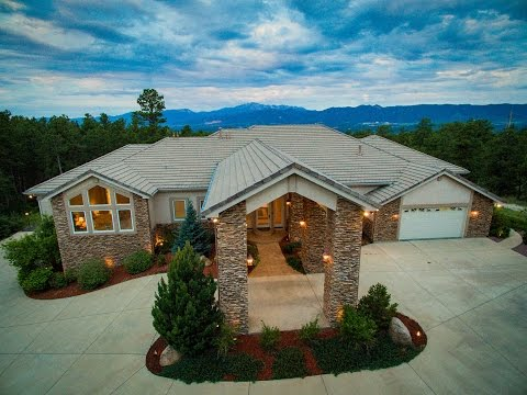 14595 Roller Coaster Rd, Colorado Springs, Colorado, Luxury Home for Sale