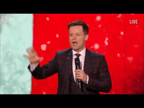 Dec's and the BGT Judges' Puns about Ant's Absence | BGT | 28.05.2018