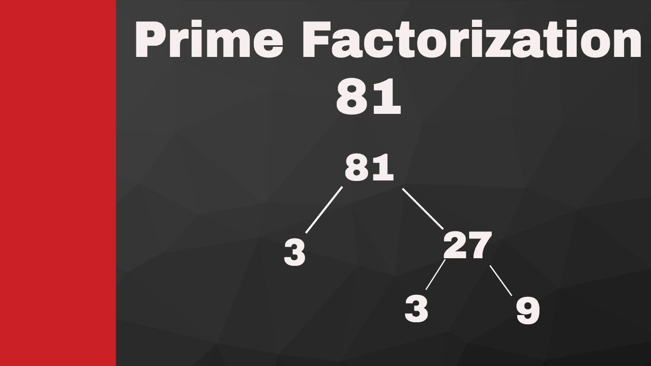 Prime Factorization Of 85 And 81 Youtube Use the form below to do your conversion, convert number to factors, separate numbers. prime factorization of 85 and 81