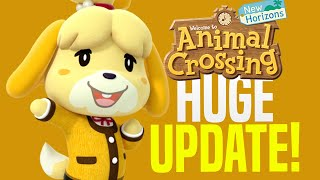 Animal Crossing August Update - ALL New Features, Events, Villagers, Fireworks! (New Horizons Tips)
