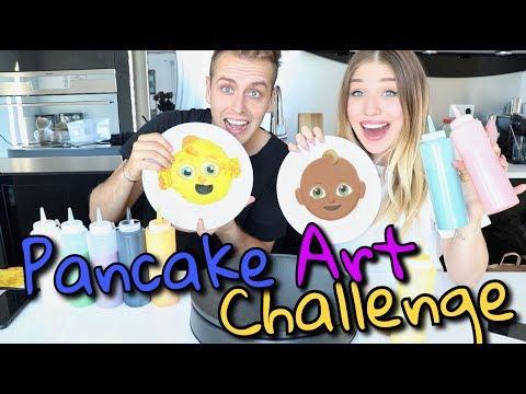 Pancake Art Challenge