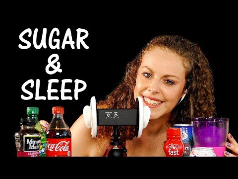 Is Sugar Ruining Your Sleep? Stress & Sugar & Drinks, ASMR Whisper Wellness Health Coach
