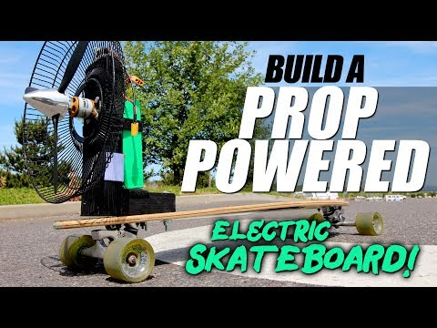 DIY Airboard Electric Skateboard - How To
