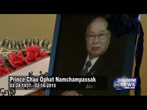 Suab Hmong News: Exclusive covered the Funeral Service for Chao Ophat Nachampassak