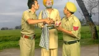 chach bishna and gabbar comedy- punjab police--directed by santa banta