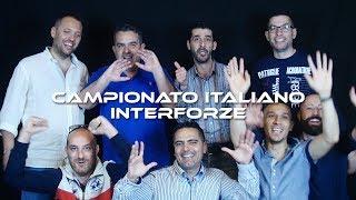 CAMPIONATI ITALIANI 2018 - TV TABLE INTERFORZE