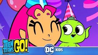 Teen Titans Go! em Português | Feliz Dia do Nascimento, Mutano | DC Kids