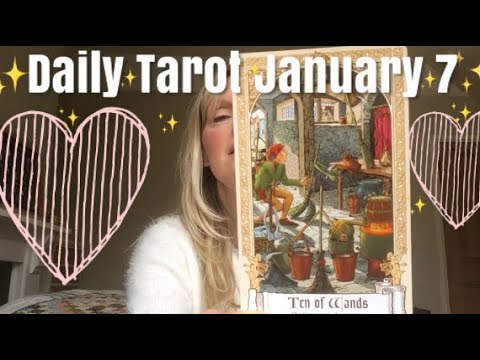 Daily Tarot 7 January 2019 🙏✨ Hello - What's in the bag?🙏✨