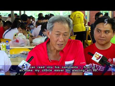 Ng Eng Hen   Call S'pore to vote for candidates they can trust   30Aug2015