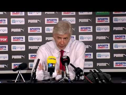Arsene Wenger post Newcastle 0 - Arsenal 1: We will turn it round at home