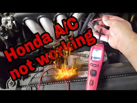 04' Honda A/C not working