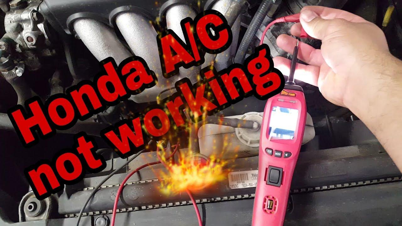 honda ac  working youtube