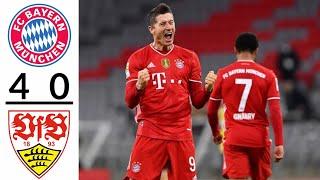 Бавария Штутгарт 4 0 Обзор Матча Чемпионат Германия 20 03 2021