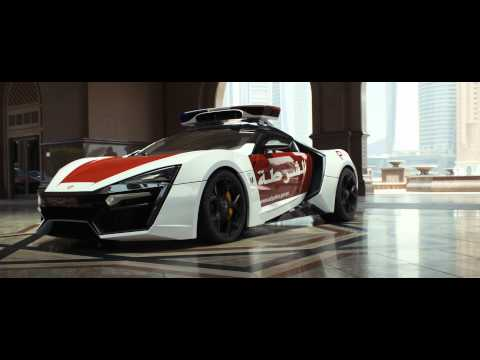 """Abu Dhabi Police is """"Fast and Smart"""" with the Lykan HyperSport and Ekin Patrol! (Official 4k)"""