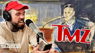 Adam22 RAGES OUT on TMZ for 6ix9ine Coverage
