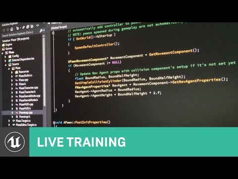 Getting Started with C++ | Live Training | Unreal Engine
