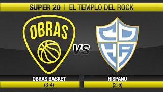 Highlights Obras Basket 78-82 Hispano (21-10-2017)