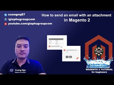 How to send an email with an attachment in Magento 2
