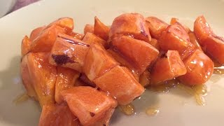 How To Make Chinese Caramelized Sweet Potatoes And Apples (ba Si)